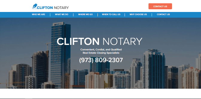 Clifton Notary